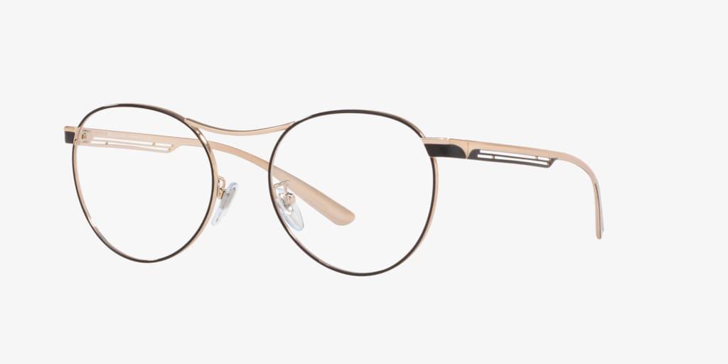 Bulgari BV2208 Black/Rose Gold Eyeglasses
