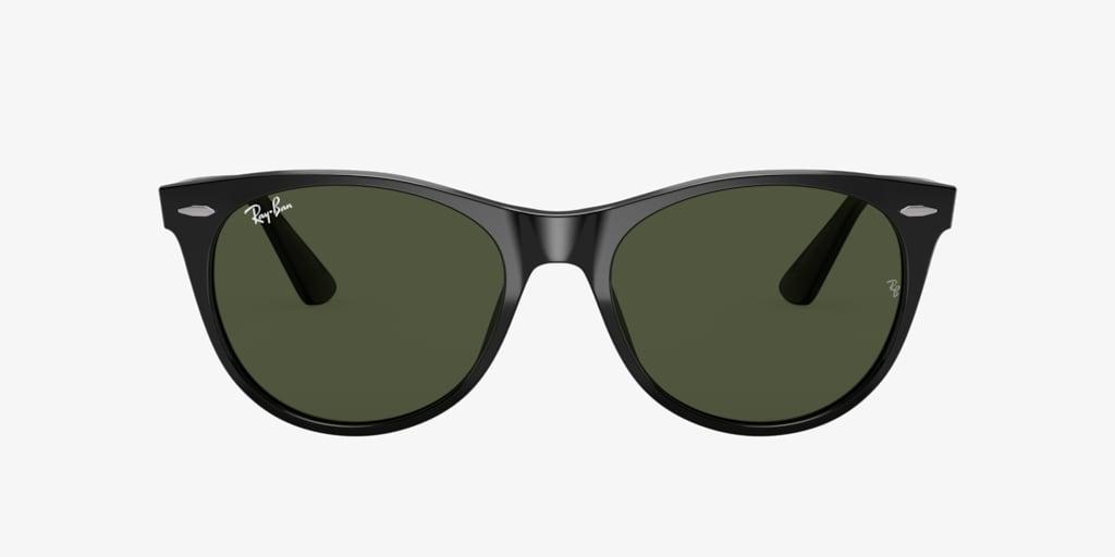 Ray-Ban RB2185 55 WAYFARER II Black Sunglasses