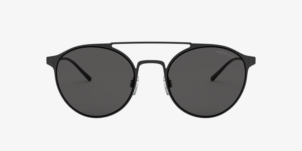 Giorgio Armani AR6089 54 Matte Black Sunglasses