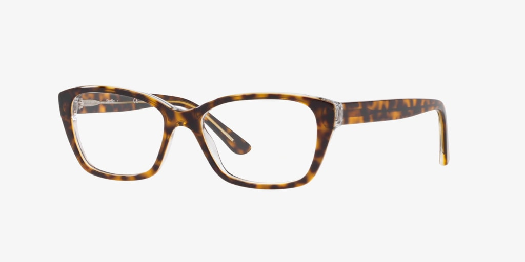 Sferoflex SF1575 Havana On Transparent Eyeglasses