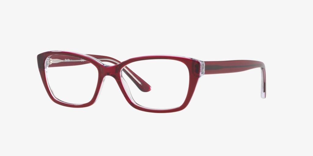 Sferoflex SF1575 Bordeaux On Crystal Eyeglasses