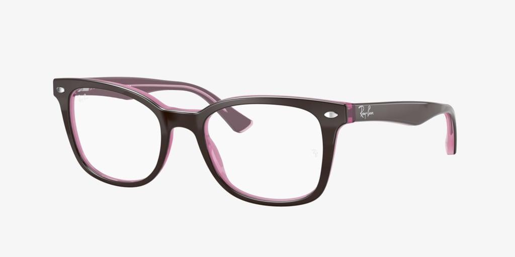 Ray-Ban RX5285 Brown on Opal Pink Eyeglasses