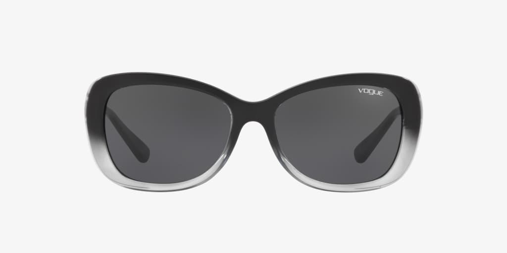 Vogue VO2943SB 55 Black/ Grey Transparent Sunglasses