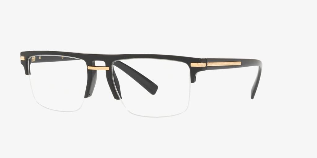 Versace VE3269 GRECA AEGIS Black Eyeglasses