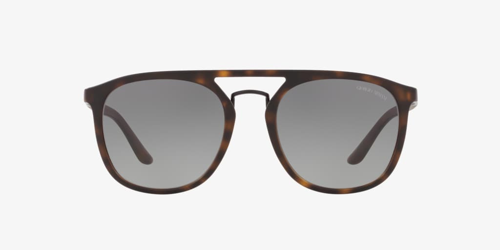 Giorgio Armani AR8118 53 Tortoise Sunglasses