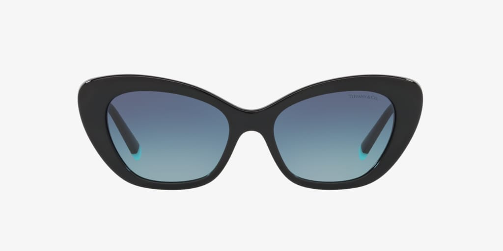 Tiffany TF4158 54 Black Sunglasses