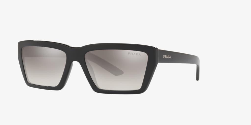Prada PR 04VS 57 Black Sunglasses