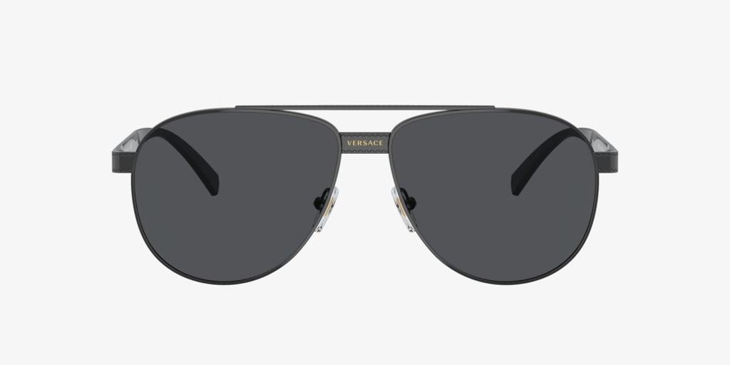 Versace VE2209 58 Black Sunglasses