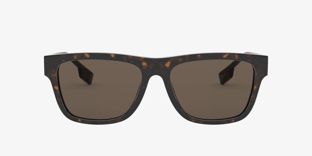 Burberry BE4293 56 Dark Havana Sunglasses