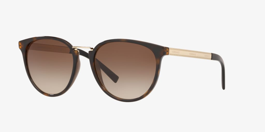 Versace VE4366 54 Tortoise Sunglasses