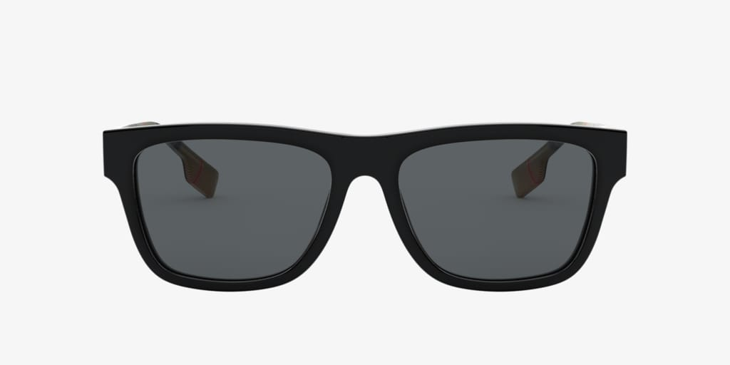 Burberry BE4293 56 Black Sunglasses