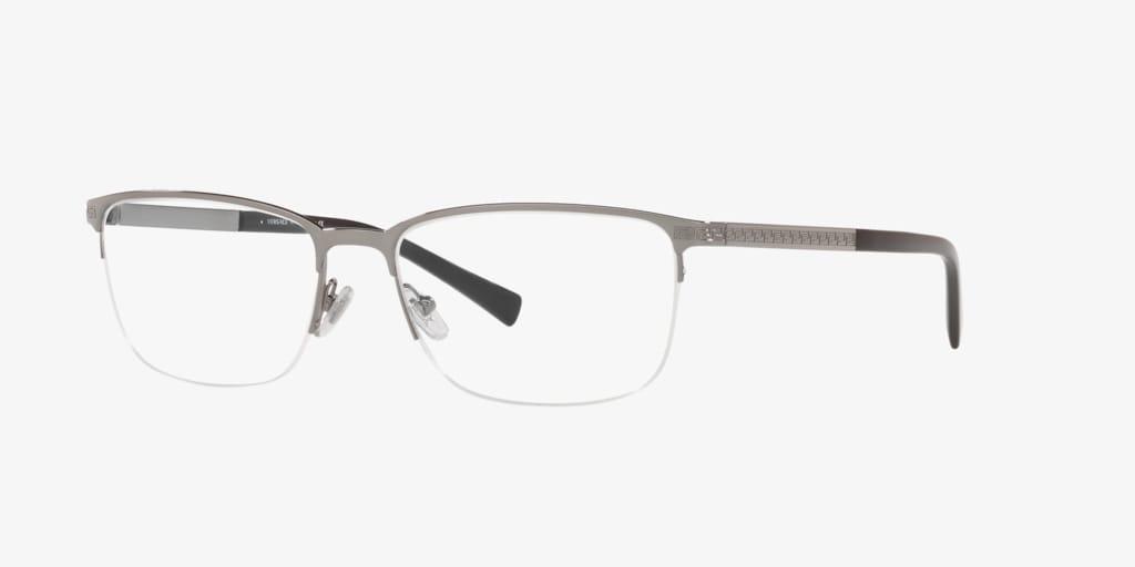 Versace VE1263 Gunmetal Eyeglasses