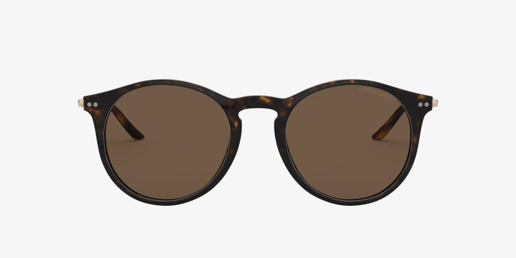 Giorgio Armani AR8121 51 Dark Havana Sunglasses