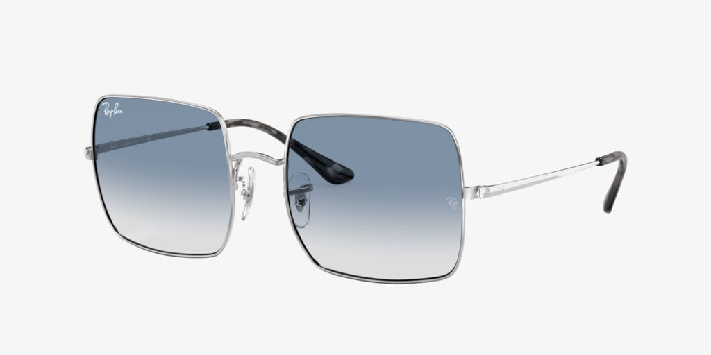 Ray-Ban RB1971 54 SQUARE Silver Sunglasses