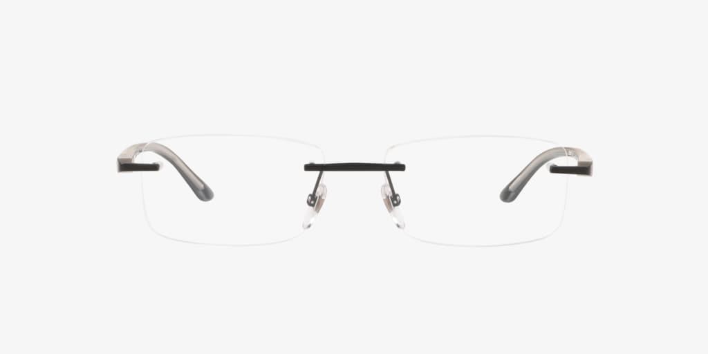 Starck Eyes SH2043 Matte Black Eyeglasses