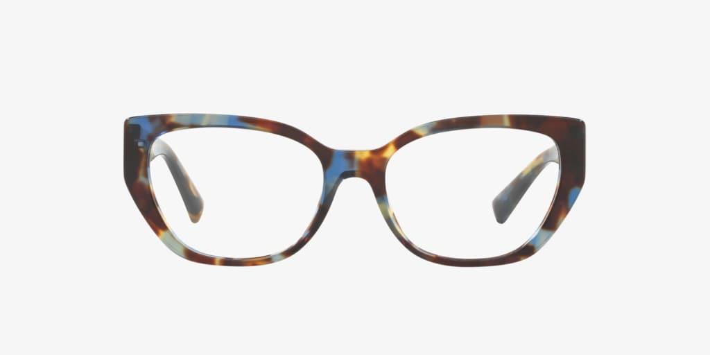 Valentino VA3037 Blue Havana Eyeglasses
