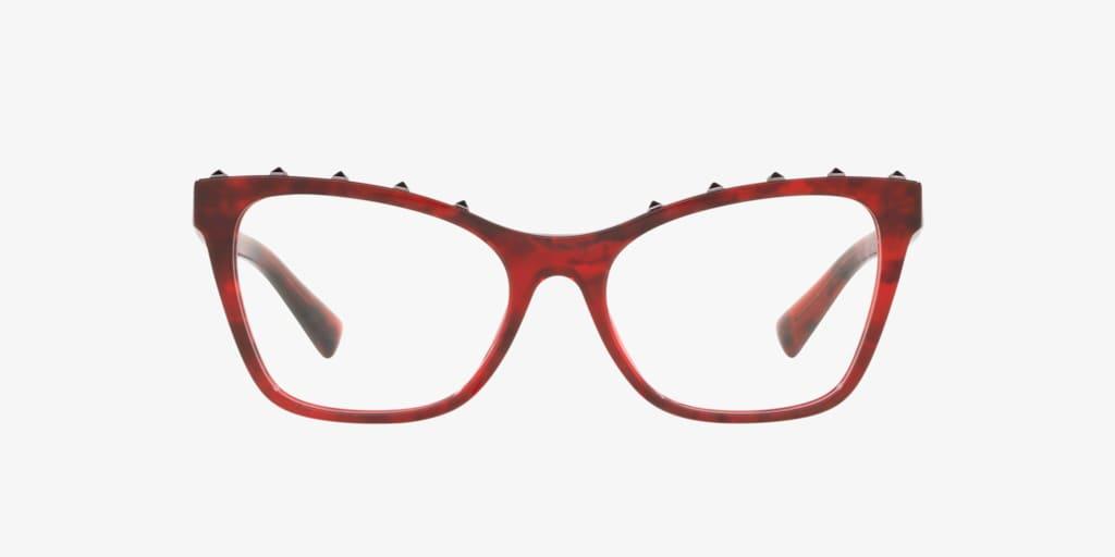 Valentino VA3039 Red Havana Eyeglasses