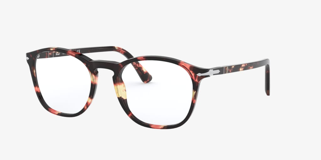 Persol PO3007VM Pink/Brown Tortoise Eyeglasses