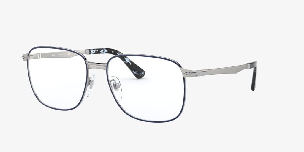 Persol PO2462V Silver/Blue Eyeglasses