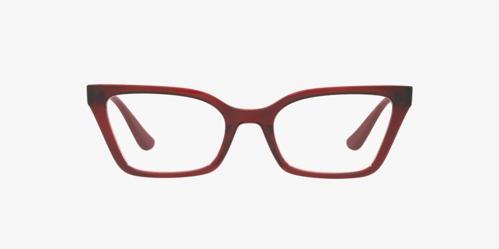 Vogue VO5275B Bordeaux/Transparent Red Eyeglasses