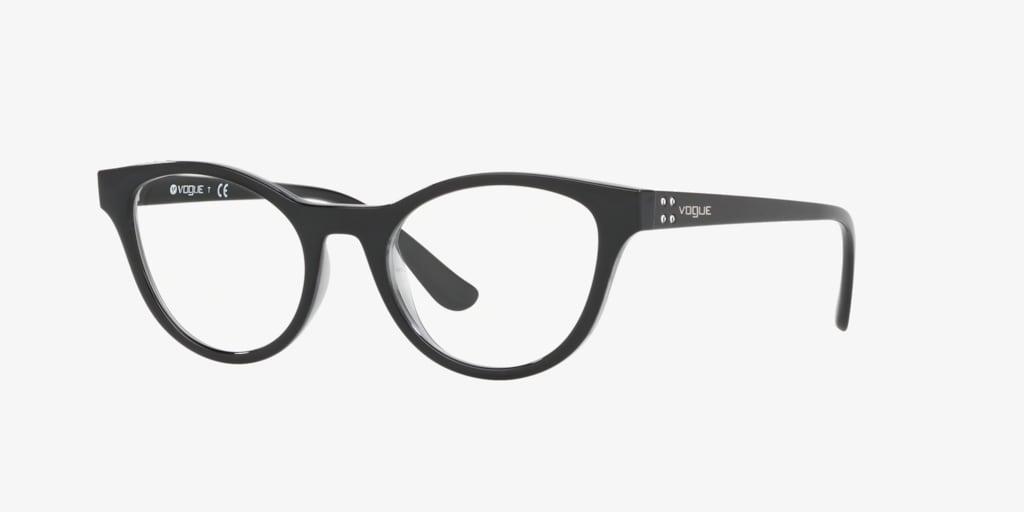 Vogue VO5274B Black/ Grey Transparent Eyeglasses