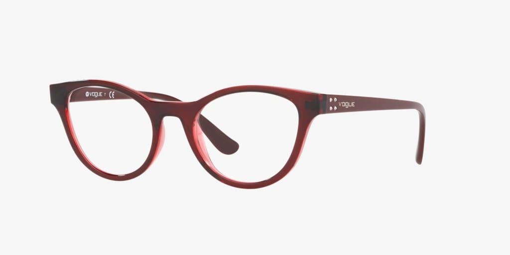 Vogue VO5274B Bordeaux/Transparent Red Eyeglasses