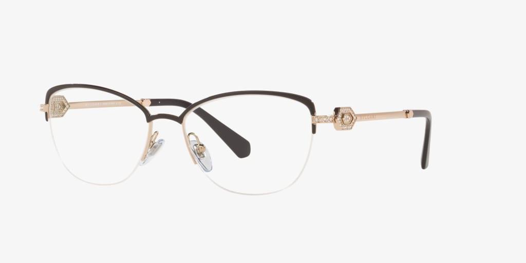 Bulgari BV2210B Black/Pink Gold Eyeglasses