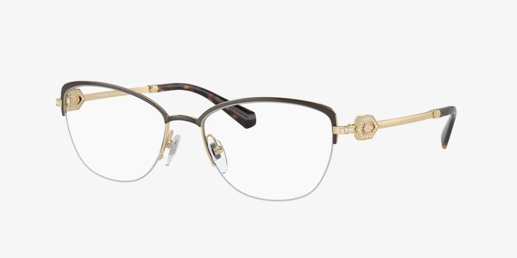Bulgari BV2210B Brown/Pale Gold Eyeglasses