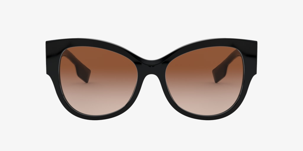Burberry BE4294 54 Black Sunglasses