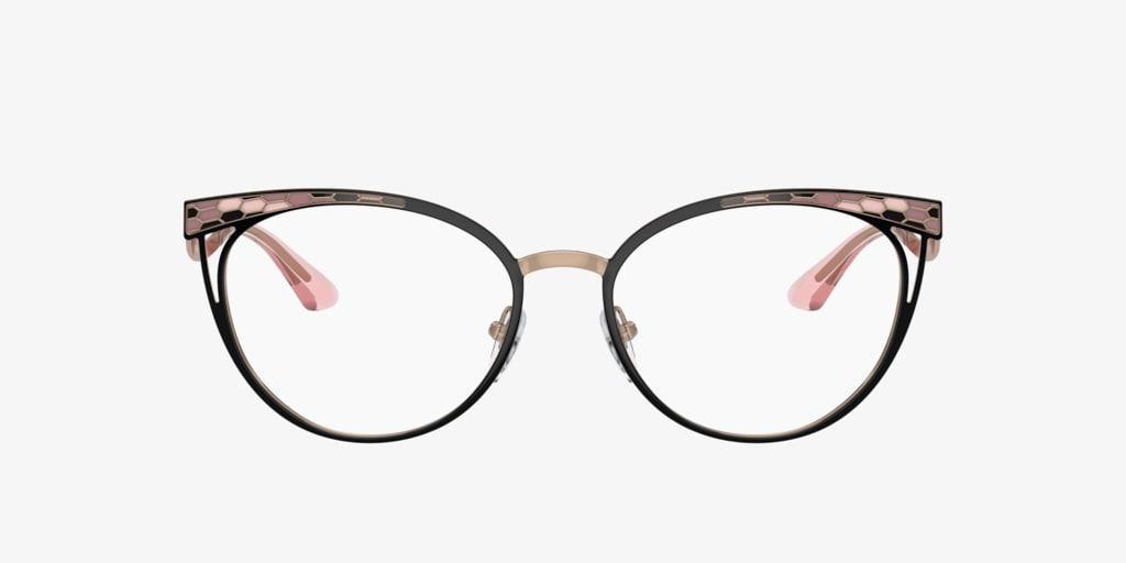 Bulgari BV2186 Black/Pink Gold Eyeglasses