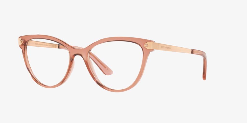 Dolce&Gabbana DG5042 Transparent Pink Eyeglasses