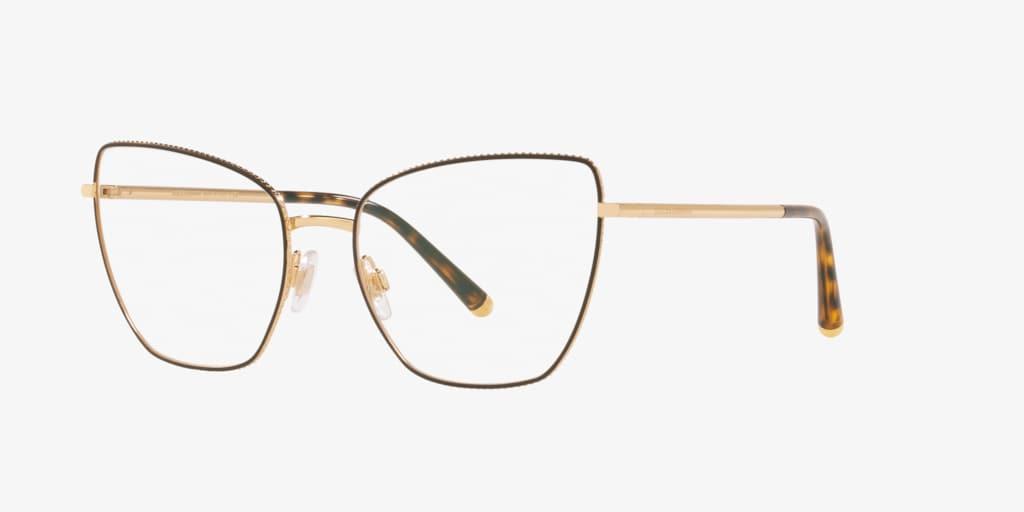 Dolce & Gabbana DG1314 Gold/Matte Brown Eyeglasses