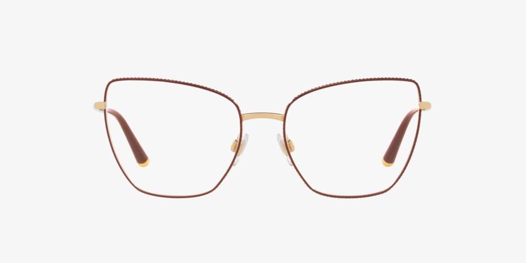 Dolce & Gabbana DG1314 Gold/Bordeaux Eyeglasses