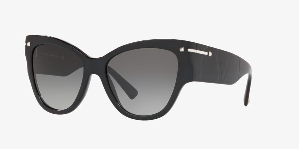 Valentino VA4028 55 Black Sunglasses