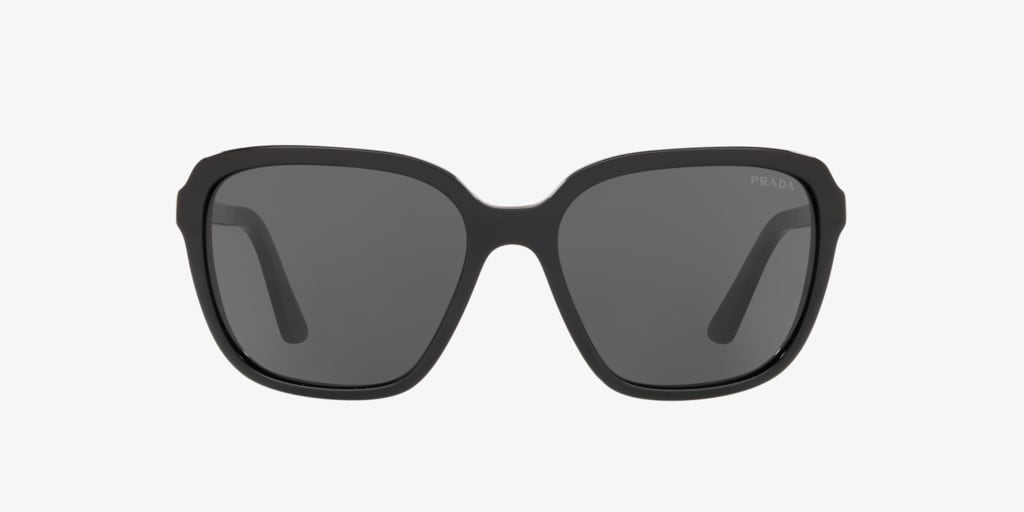 Prada PR 10VS 58 HERITAGE Black Sunglasses