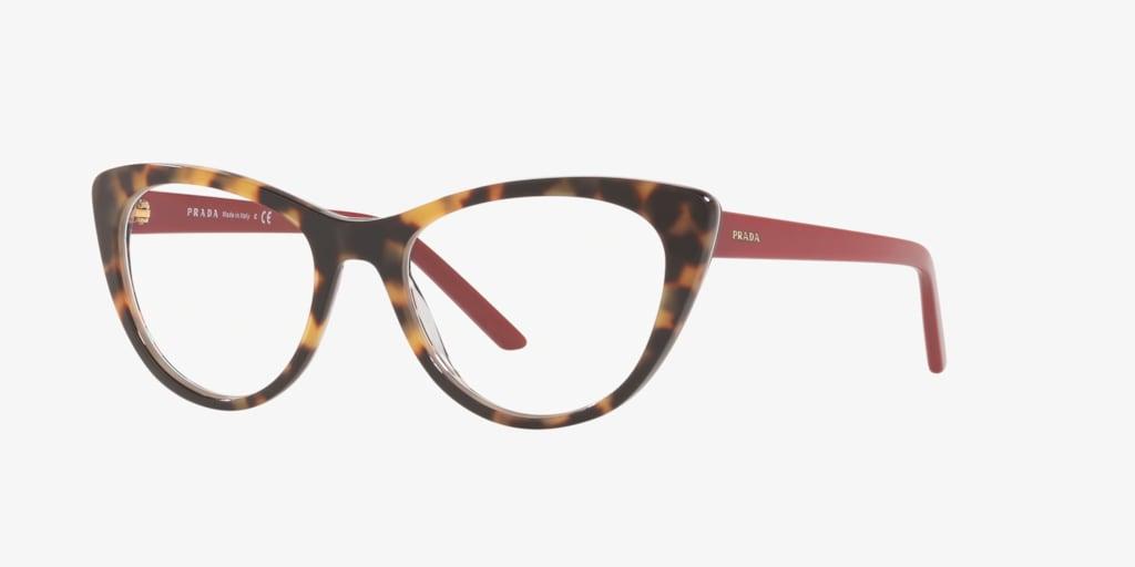 Prada MILLENNIALS Havana/Red Eyeglasses