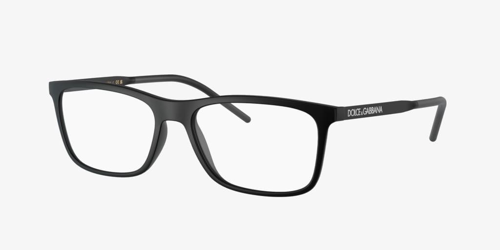Dolce&Gabbana DG5044 Matte Black Eyeglasses