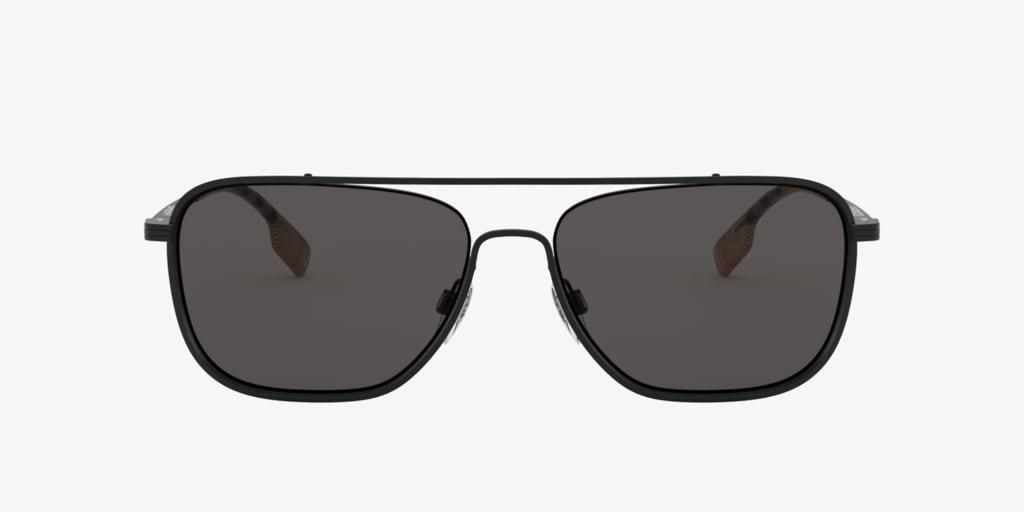 Burberry BE3112 59 FALCON Matte Black Sunglasses