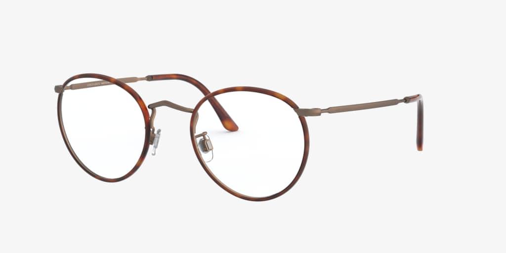 Giorgio Armani AR 112MJ Havana Brushed Bronze Eyeglasses