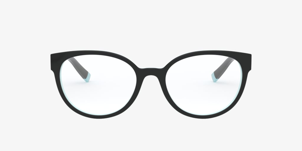 Tiffany TF2191 Black on Tiffany Blue Eyeglasses