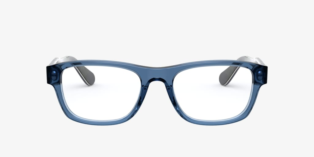 Polo Ralph Lauren PH2213 Shiny Transparent Blue Eyeglasses