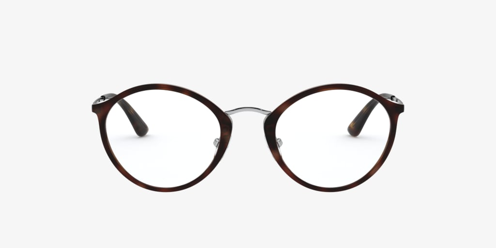 Vogue VO5286 Dark Havana/Light Brown Eyeglasses