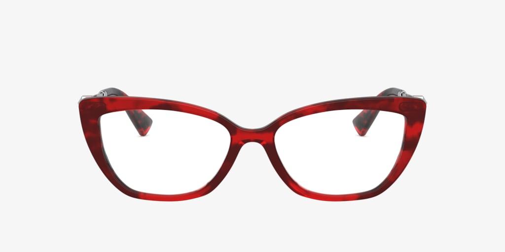 Valentino VA3045 Red Havana Eyeglasses
