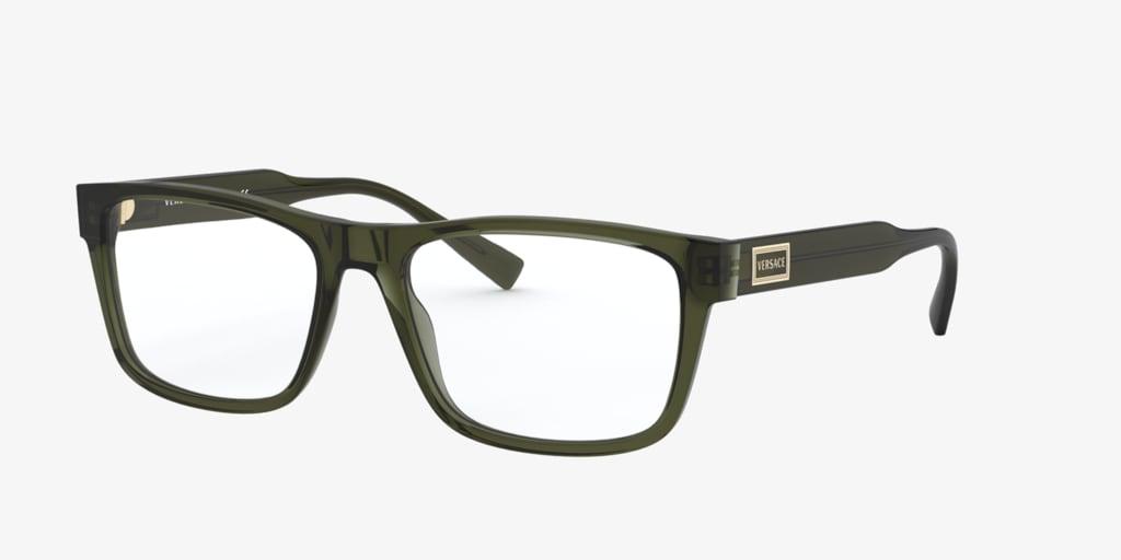 Versace VE3277 Transparent Green Eyeglasses