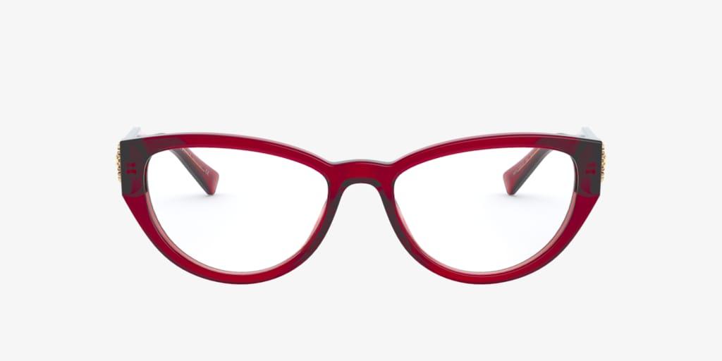 Versace VE3280B Transparent Red Eyeglasses