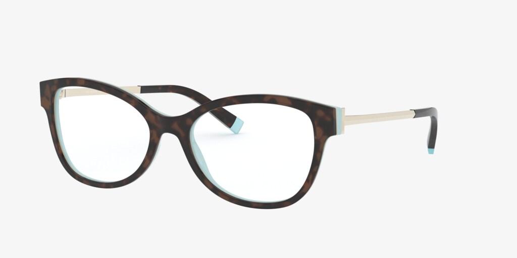 Tiffany TF2190F Havana on Tiffany Blue Eyeglasses