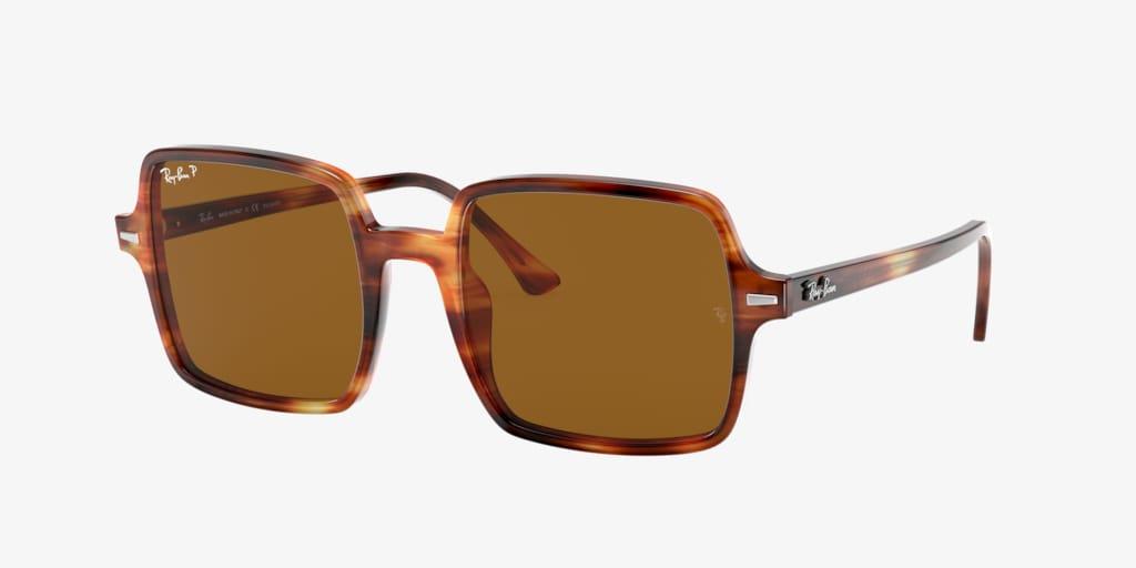 Ray-Ban RB1973 53 SQUARE II Tortoise Sunglasses