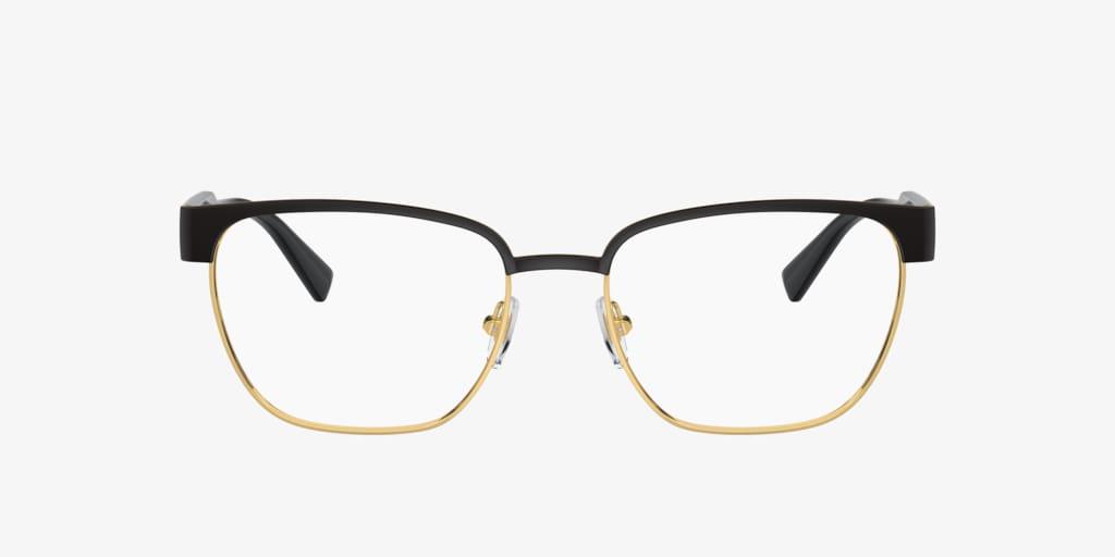 Versace VE1264 Matte Black/Gold Eyeglasses