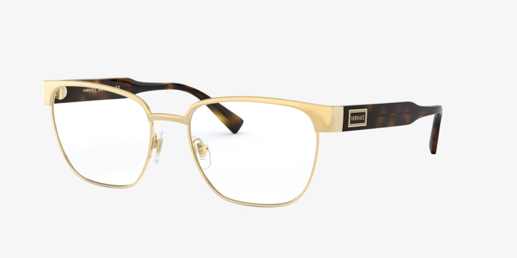 Versace VE1264 Gold Eyeglasses
