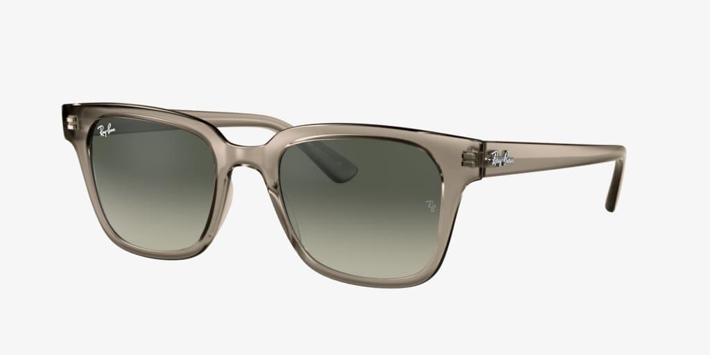 Ray-Ban RB4323 51 Transparent Grey Sunglasses